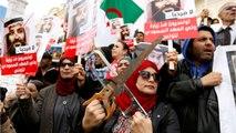 Tunisians Protest Visit From Saudi Arabian Crown Prince Mohammed Bin Salman