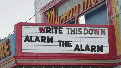 Write This Down - Alarm The Alarm