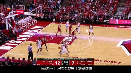 NC State vs. Wisconsin Basketball Highlights (2018-19)