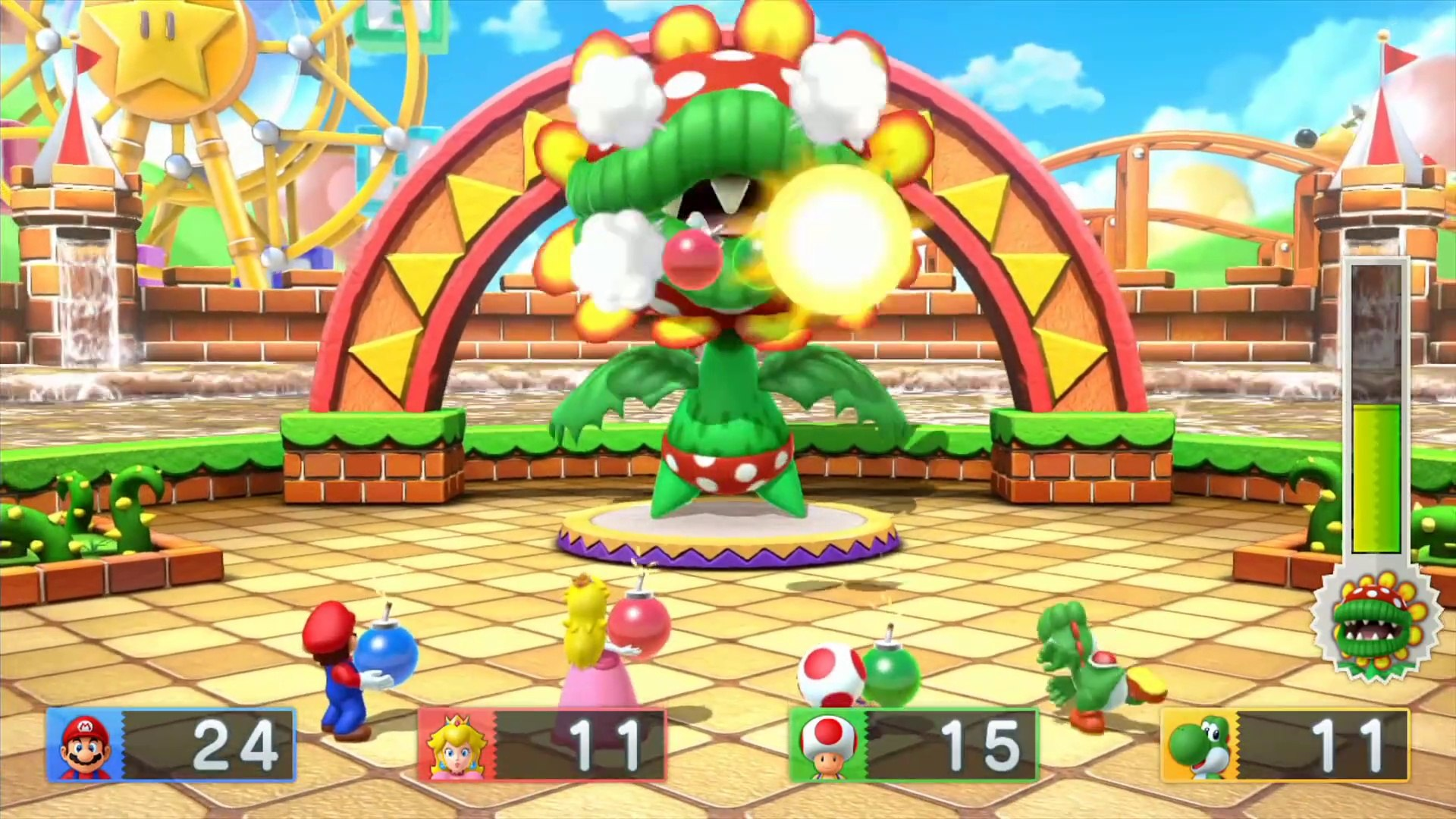 Mario Party 10 - All 10 Boss Battles Gameplay Walkthrough