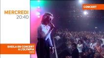 Semaine spéciale Sheila : Les adieux 1989 de Sheila à l'Olympia sur TV Melody, ce soir à 20h40