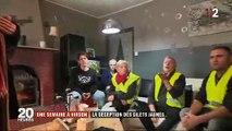 Gilets jaunes : Le 20h de France 2 s'est invité chez des gilets jaunes après le discours d'Emmanuel Macron - Regardez