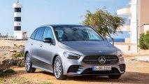 Mercedes-Benz B 200 d: Probefahrt mit der neuen Mercedes B-Klasse