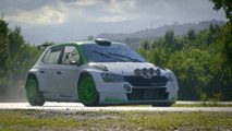 The new SKODA FABIA R5 - SKODA defends WRC 2 Title again