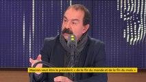"""""""La concertation sauce Macron, c'est cause toujours tu m'intéresses"""" (Philippe Martinez, CGT)"""