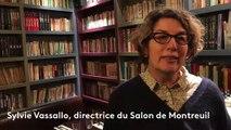 Sylvie Vassallo, directrice du Salon de Montreuil, sur les Pépites
