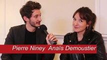 Sauver ou Périr :  rencontre avec Pierre Niney et  Anaïs Demoustier