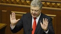 Watch: 'Get out of Ukraine, Mr. Putin,' says Ukrainian President Petro Poroshenko