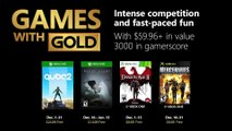 Games with Gold   December 2018 Trailer