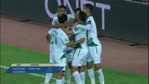 Football:  raja de Casablanca gagne le match aller de la finale coupe CAF face AS.V club du Congo