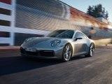 La Porsche 911 (2019) sur route en vidéo