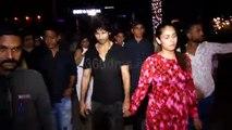 Arjun Reddy Actor Shahid Kapoor and Mira Rajput Spotted At Bandra KBC
