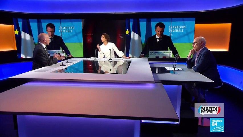 """Éric Ciotti  invité de """"Mardi Politique"""" :  Macron insulte les français qui manifestent"""