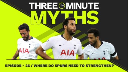 Where Do Spurs Need To Strengthen? | Three Minute Myths