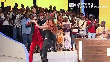 Queen Biz présentée à la télévision Ivoirienne (Rti) comme une grande star au Sénégal