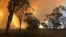 Australia: wildfires ravage Queensland