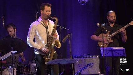 """Maxime Bender en live : """"Helical"""" - Scène Sacem Jazz"""