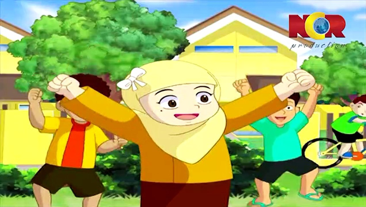 Download 90  Gambar Animasi Kartun Anak Muslim  Paling Keren