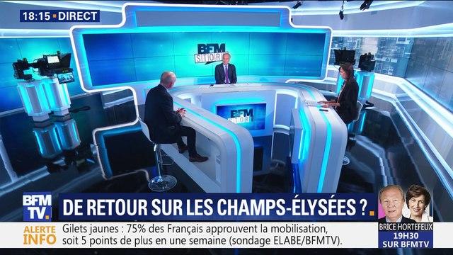 Gilets jaunes: de retour sur les Champs-Élysées ?