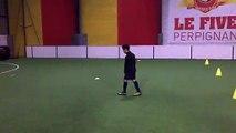 DJIBRIL SADALLAH - U11 - AVEC L'ASPTG ÉLITE FOOTBALL et STAGE FOOT - FIVE PERPIGNAN - 28.11.2018 - REJOIGNEZ-NOUS : https://asptg.footeo.com/ - V1