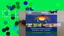 [P.D.F] Haemaphysalis Ticks of India (Elsevier Insights) by G Geevarghese