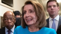 Pelosi wins support of fellow Democrats for speaker bid