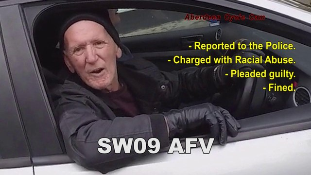 SW09AFV - Road Rage - Horn Abuse, Close Pass, Verbal Abuse - Albyn Place, Aberdeen