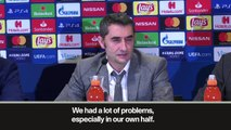 Eng Sub: 'Barcelona had too many problems against PSV' Valverde