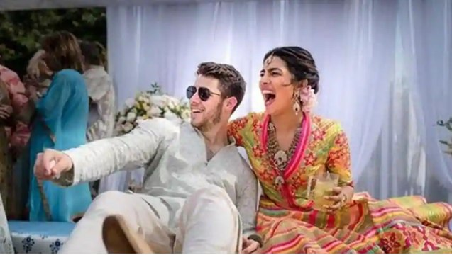 Priyanka Chopra- Nick Jonas wedding: Visuals from haldi and mehendi ceremonies