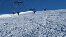Premier jour de ski à l'Alpe d'Huez et aux Deux Alpes