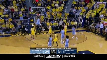 North Carolina vs. Michigan Basketball Highlights (2018-19)