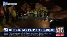 Gilets jaunes: 75% des Français soutiennent les gilets jaunes d'après un sondage Elabe pour BFMTV