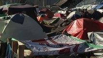 Migrantes enfrentan duras condiciones en Tijuana