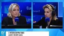 """Marine Le Pen soutient la manifestation des """"gilets jaunes"""" : """"Si les Champs-Élysées sont interdits samedi, ça sera vécu comme une nouvelle humiliation"""""""