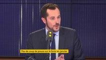 """""""Il y a une urgence, c'est de revaloriser les petits salaires à commencer par le Smic (...) aux environs de 1500 euros net"""" déclare Nicolas Bay (RN)"""