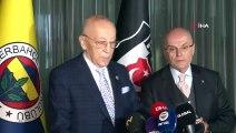 Beşiktaş ve Fenerbahçe divan başkanları yemekte buluştu