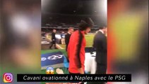 Cavani ovationné à Naples avec le PSG, Lebo Mothiba se fait chambrer au racing