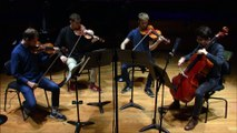 Bartok : Quatuor à cordes n° 3 en ut dièse mineur Sz 85 (Quatuor Agate)