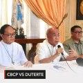 CBCP defends Bishop David vs Duterte