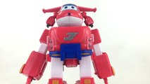"Super Wings Jett's Super Robot Suit 14""  w 5"" Transforming Jett 출동슈퍼윙스 