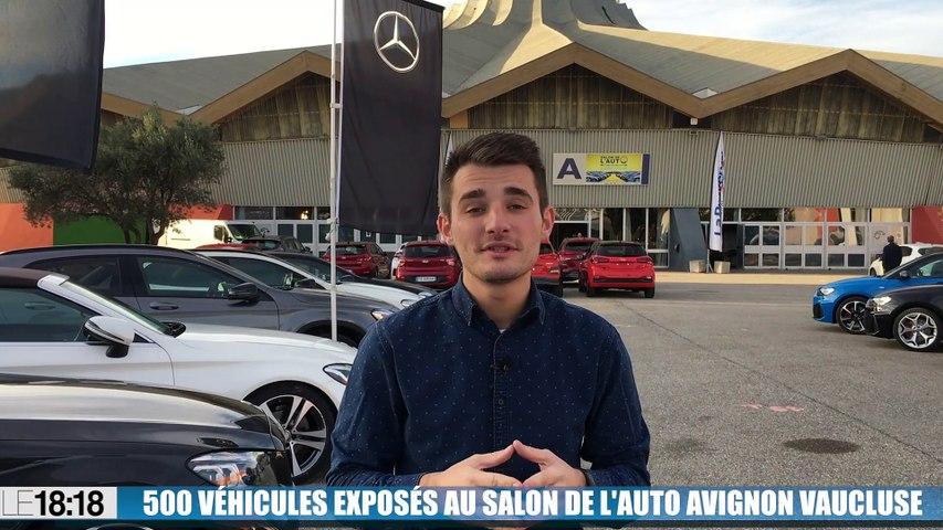 500 véhicules exposés au salon de l'auto Avignon Vaucluse
