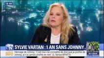 """Johnny: Sylvie Vartan pense """"que le droit moral et artistique revient aux enfants qui sont les héritiers"""""""