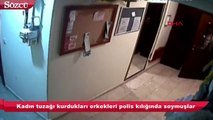 Kadın tuzağı kurdukları erkekleri polis kılığında soymuşlar