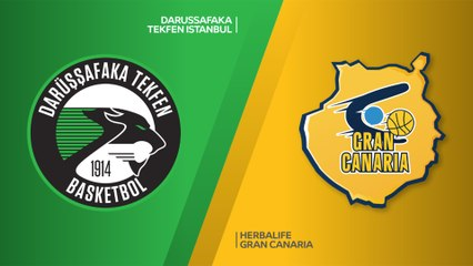 EuroLeague 2018-19 Highlights Regular Season Round 10 video: Darussafaka 71-75 Gran Canaria
