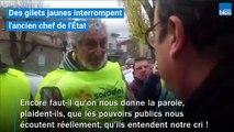 """Quand François Hollande défend son bilan et encourage les """"gilets jaunes"""" à continuer"""