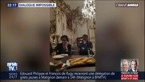 Les porte-paroles des gilets jaunes filment leur rendez-vous avec François De Rugy