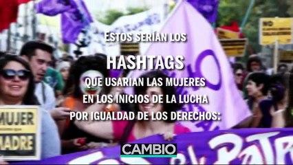 Hashtags feministas