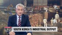 S. Korea's industrial output around main 3 sectors rebounds in October: Statistics Korea