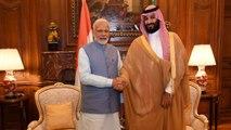 PM Modi holds bilateral meeting with Saudi Crown Prince   OneIndia News