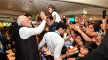 PM Modi receives grand welcome by Indian community in Argentina | OneIndia News
